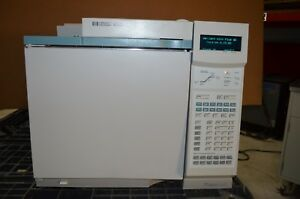 Agilent Hp 6890 Gc With S sl Inlet No Detector As is