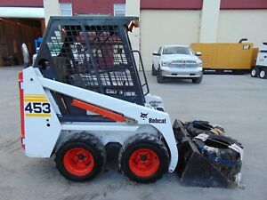 Bobcat 453 Mini Series Kubota Diesel Only 3 Wide Compares To S70