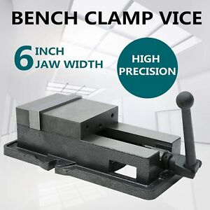 High Precision 6 Lock Vise Milling Drilling Machine Bench Clamp 6 Inch