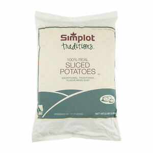 Simplot Traditions Dry Sliced Potato 5lbs pack Of 4