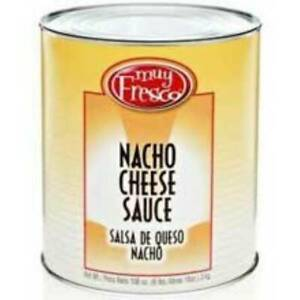Muy Fresco Trans Fat Free Nacho Cheese Sauce Can 6 63lbs pack Of 6