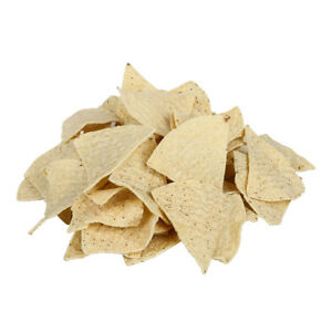 Mission Foods Pre Cut Unfried Yellow Tortilla Chips 6 Cut 30lbs pack Of 1