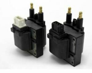 Set Of 2 Ignition Coil For Renault Clio Ii Kangoo Express Megane Cabriolet Sceni