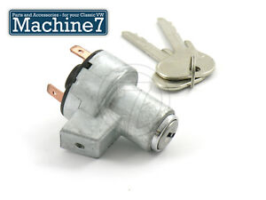 Classic Vw Splitscreen Camper Ignition Barrel Switch Lock Key Split Bus Van 67