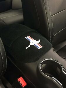 Fits Ford Mustang 2015 2020 Official Embroidered Auto Armrest Console Cover M1e