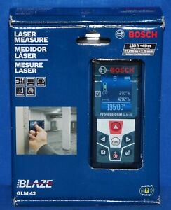 Bosch Glm 42 Laser Distance Measure 135ft 40m