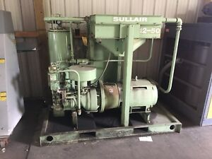 Sullair 12 50 Air Compressor Used