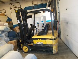 Daewoo Bc18t Electric Forklift Cheap It Needs A Battery