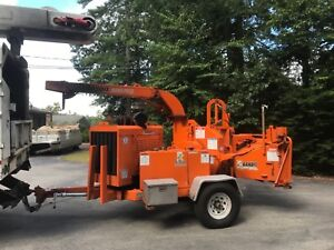 2014 Brush Bandit 250 Xp Chipper Diesel Hdy Feed One Qwner