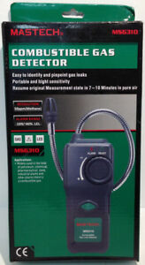 Mastech Ms6310 Combustible Gas Leak Tester Detector W19 a5