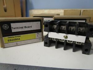 Ge Eb25b04 Terminal Block 4 Pole 600v 30a Lot Of 13