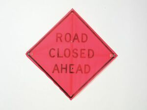 Usa sign Road Traffic Control Mesh 36 X 36 C 36 emo 3fh hd Road Closed Ahead