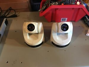 Lot Of 2 Sony Evi d70c Color Video Camera