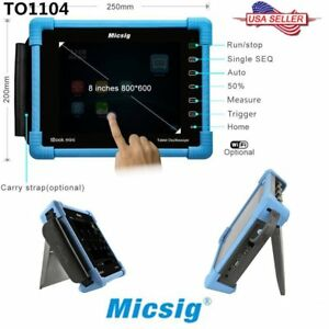 Micsig To1104 Digital Tablet Oscilloscope 4 Channels Touchscreen Measurements Yz