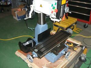 Rong Fu Milling Drilling Machine Zx30 1 1 4 Bench Top With Rolling Bench