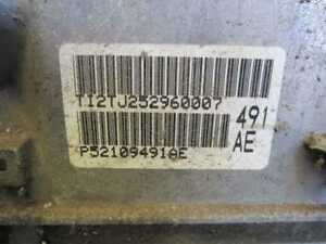 Automatic Transmission 5 Speed 10 Challenger 3 5 52109491ae