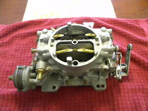 1962 Corvette And Chevrolet Passenger Car 3269s Carburetor