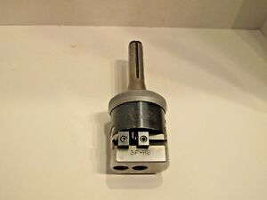 Criterion 3f hb Automatic Boring And Facing Head With R8 Shank