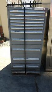 Stanley Vidmar 11 Drawer Storage Cabinet