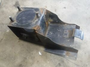 Jeep Cj5 Spare Tire Carrier Good Shape Factory Oem