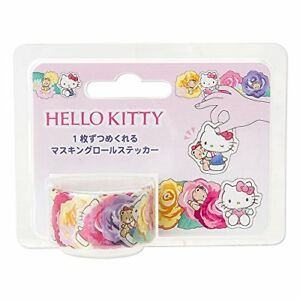 Sanrio Hello Kitty Masking Roll Stickers Made In Japan F s