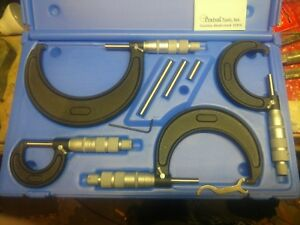 Central Tools Inc 4 Pc Micrometer Set No 6151