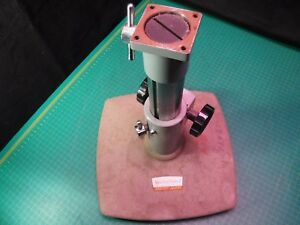 American Optical Microscope Boom Base Stand Array Instrument