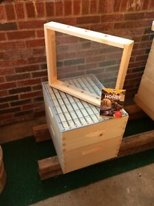 Beehive Upgrade includes Brood Box med Super Queen Excluder hive Attic Special