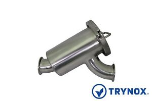 1 5 Sanitary y Type Filter Clamp Ends 304 Stainless Steel Trynox