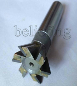 1pc 20mm X 60 Degree Dovetail Cutter End Mill