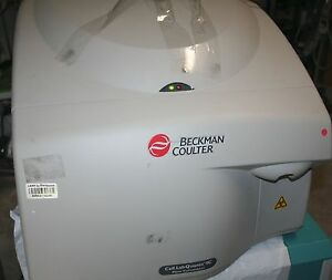 Beckman Coulter Cell Lab Quanta Sc Flow Cytometer Mpl Liquid Bottles