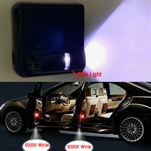 2x Wireless Ghost Shadow Projector Logo Led Door Step Light Courtesy M1 For Bmw