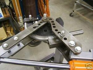 Hydraulic Tubing Bender Conv Plans Pullmax Hossfeld Metal Fabrication Usa