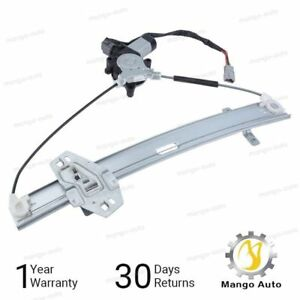 New Power Window Regulator W Motor Front Left Driver Side For Honda Accord Sedan