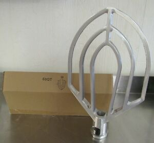 New 60 Qt Beater Paddle Attachment For Hobart Mixers