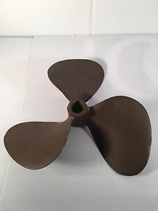 Vintage Antique Boat Propeller 13x13