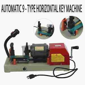 Horizontal Key Duplicating Machine Car Key Copy Cutter Locksmith Reproducer Kits