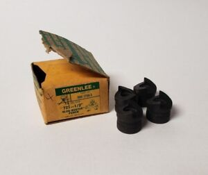 Lot Of 4 Greenlee 721 1 2 Slug Buster Punch With Original Box