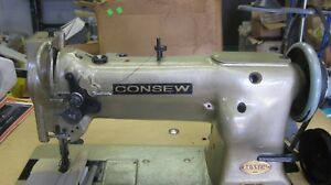 Consew Walking Foot Sewing Machine With Reverse In Very Good Condition Head Onl