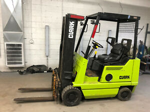 Clark Gcs20mb Forklift Propane Runs Works Great Side Shift 3 Stage