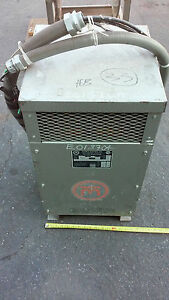 4037651l Matra Electric Dry Type Transformer Kva 37 5 Volts 240 X 480 120 240