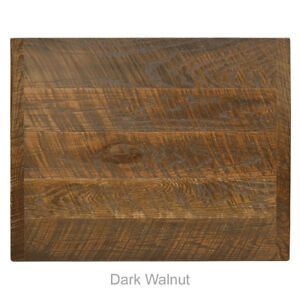 New 24 Square Economy Urban Distressed Table Top In Dark Walnut