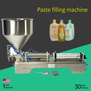 100 1000ml Automatic Paste Filling Machine For Honey Cosmetic Sauce Cream Bcl