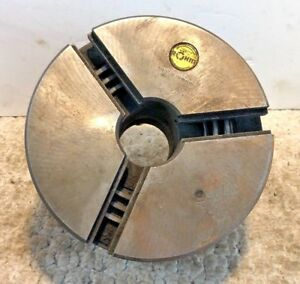 Rohm 6 1 4 3 Jaw Lathe Chuck D1 3 Mount Machinist Tool Free Shipping