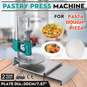 7 8inch Manual Pastry Press Machine Bread Molder Commercial Chapati Sheet