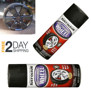 Automotive Aluminum Wheel Spray Paint Perfect Match Matte Black Clear Car Coat