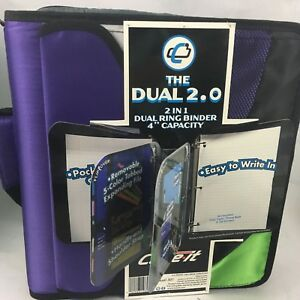 Case It Zipper Binder The Dual 2 0 3 Ring 4 Pockers Strap Handle Couponing 2n1