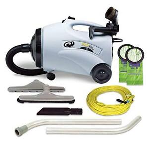 Proteam Provac Commercial Canister Vacuum Cleaner 12 Lb 103131 W Attachments