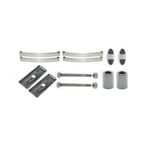 Model A Ford Rear Bumper Master Kit Polished Stainless Steel 1930 31 Only