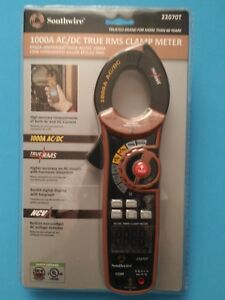 Southwire 22070t Clamp Meter 1000a 600v Ac dc True Rms Multi meter Ni260